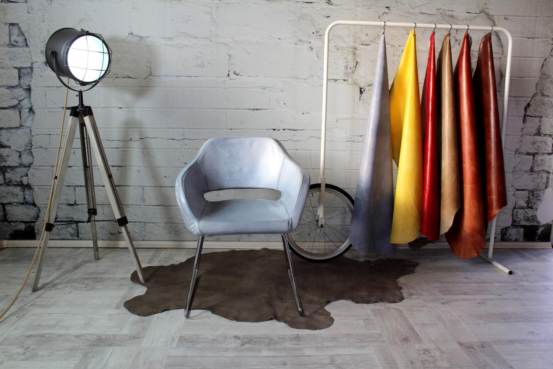 Lederstuhl Stefano Funny Italienische Designer Ledermöbel