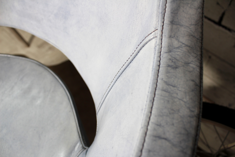 Lederstuhl Stefano Trend Drehbar Italienische Designer Ledermöbel